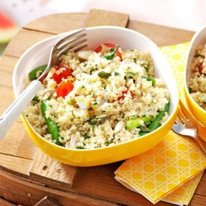 Garden Quinoa Salad
