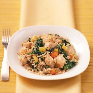 Garden Vegetable & Chicken Skillet