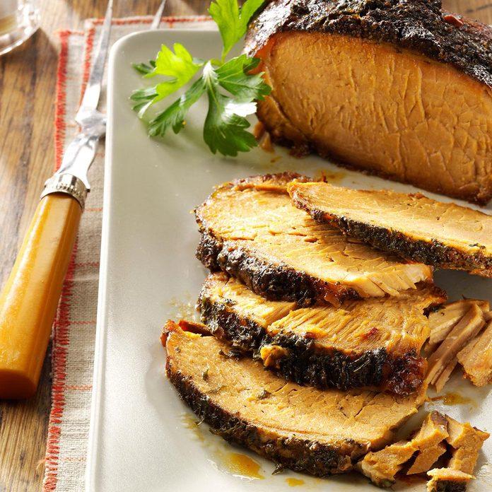 Start With: Garlic-Apple Pork Roast