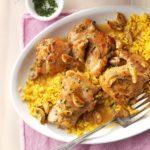 Garlic Chicken with Herbs