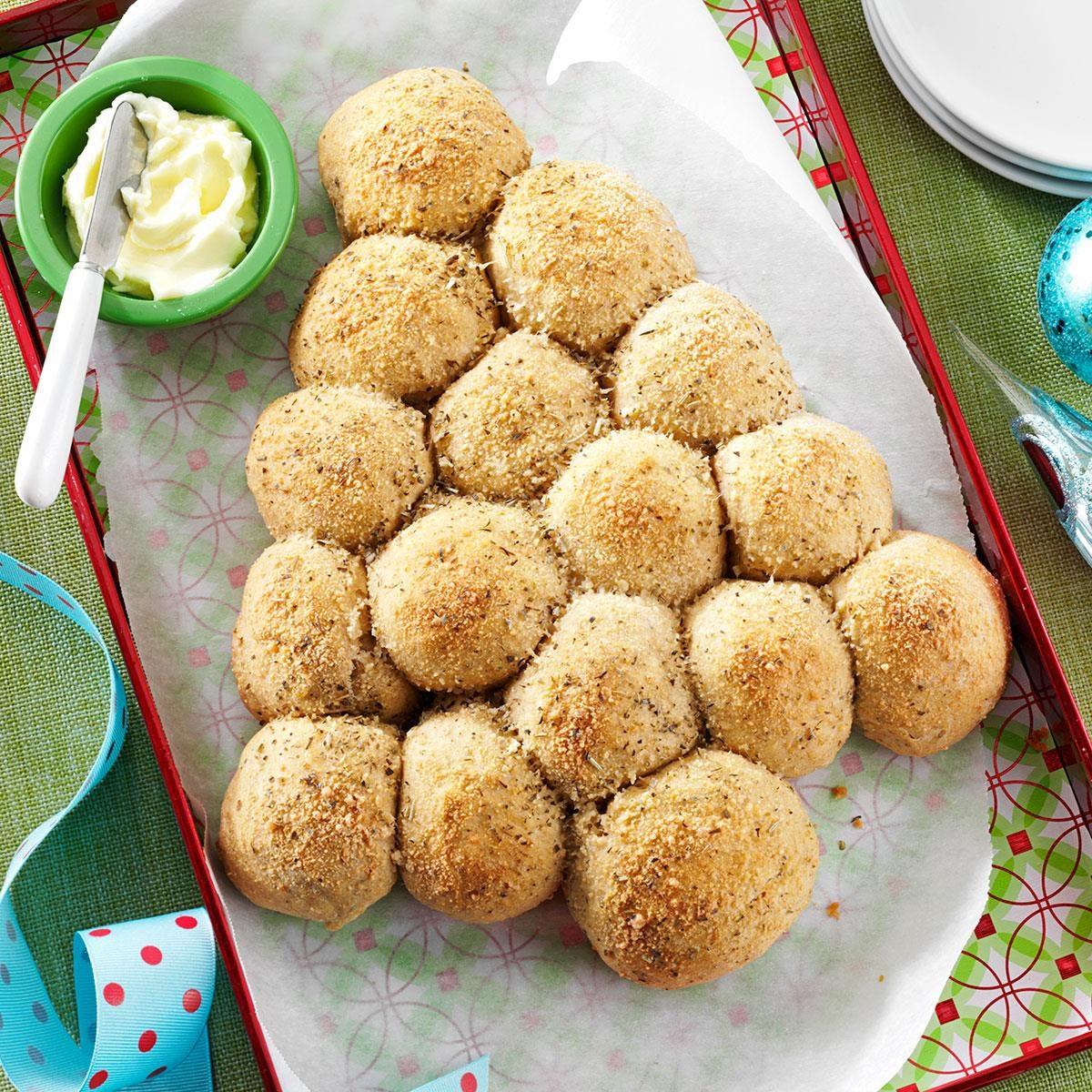 Garlic Herb Parmesan Rolls Recipe Taste Of Home