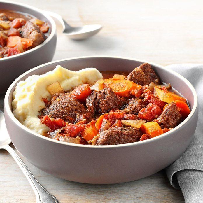 Day 9: Garlic Lover's Beef Stew