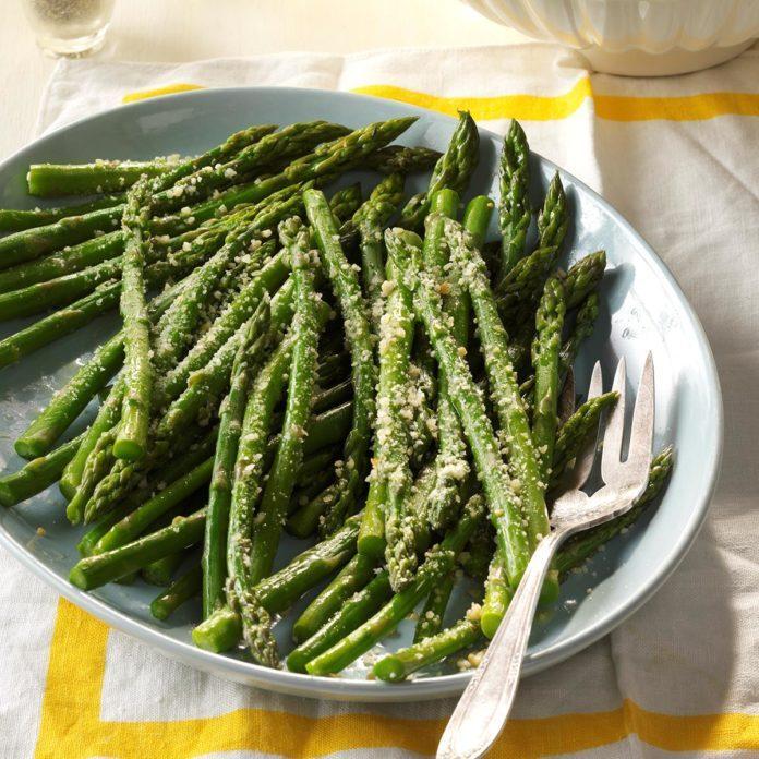 Garlic Parmesan Asparagus