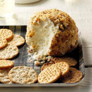 Garlic-Parmesan Cheese Ball