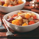Garlic Roasted Winter Vegetables