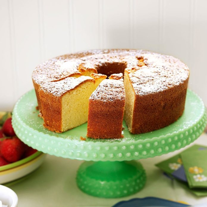 German Butter Pound Cake