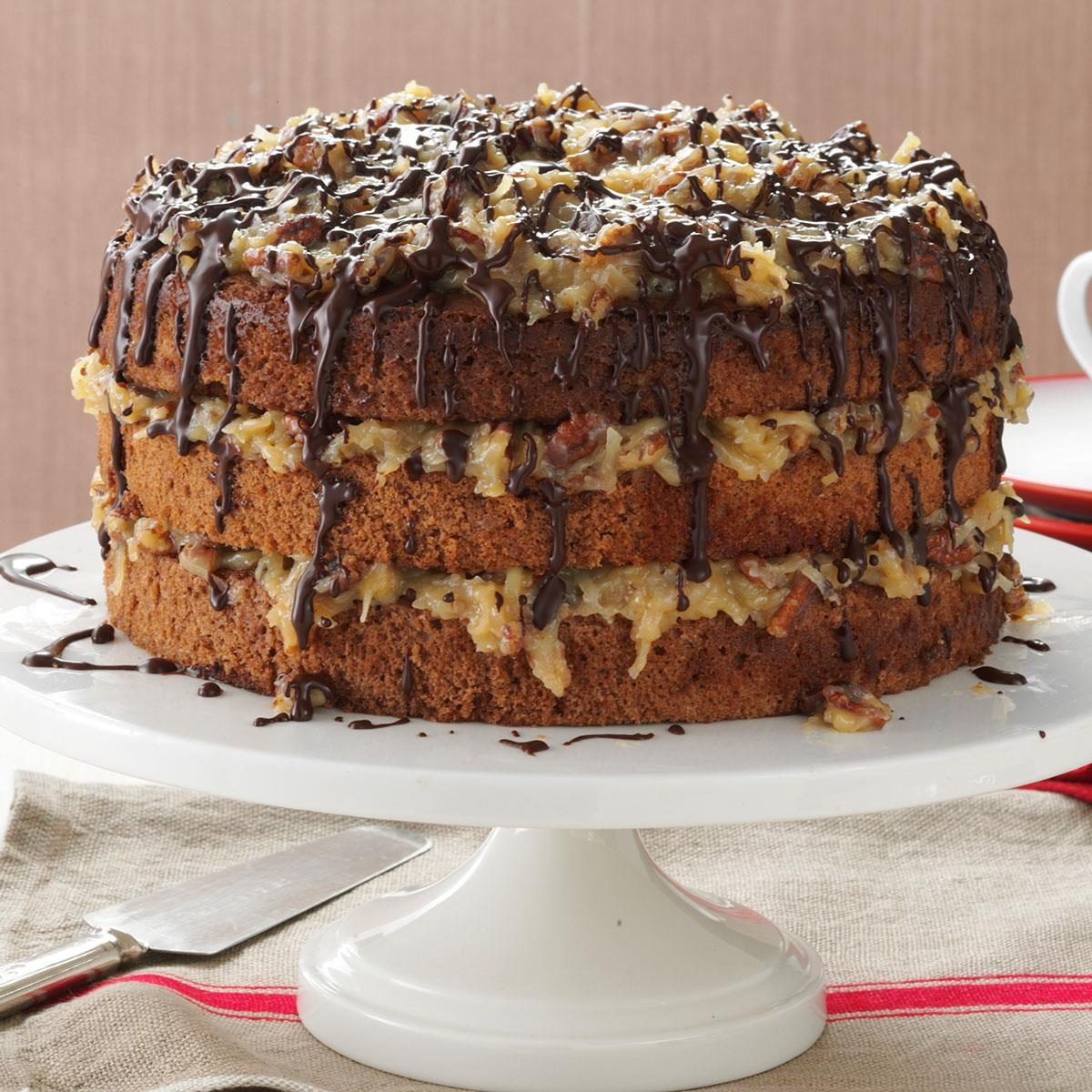 German Chocolate Cake Recipe How To Make It Taste Of Home