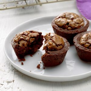German Chocolate Tassies