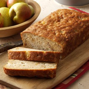 Ginger-Almond Pear Bread