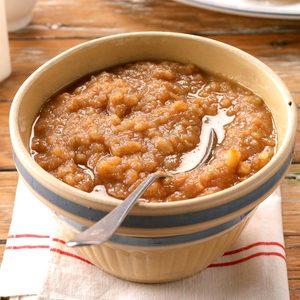 Ginger Applesauce