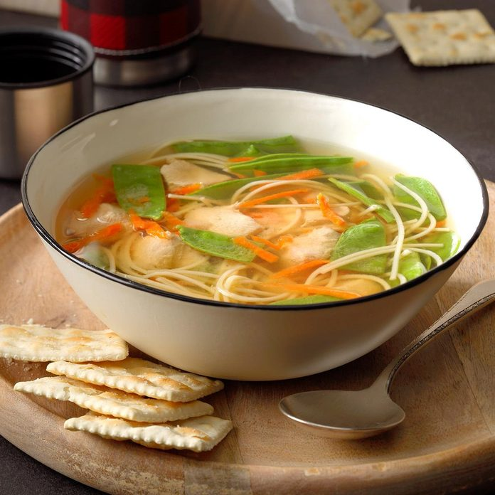 Ginger Chicken Noodle Soup Recipe How To Make It Taste Of Home
