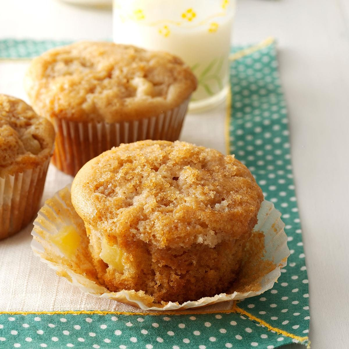 Ginger Pear Muffins