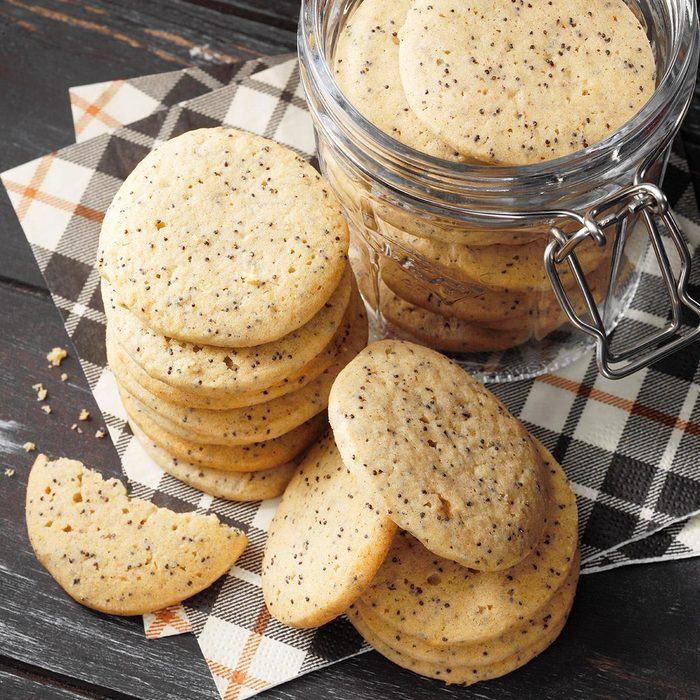 Ginger Poppy Seed Cookies