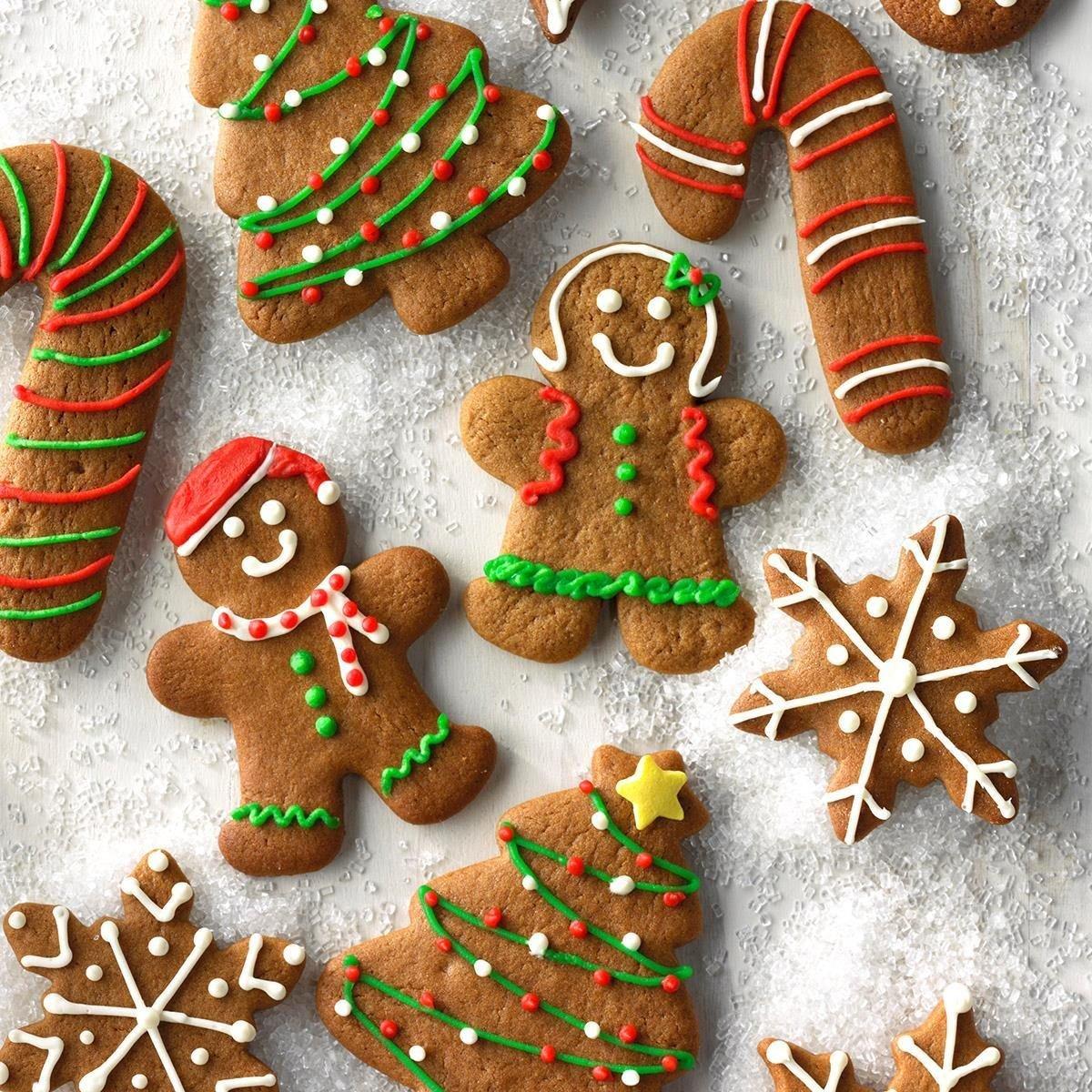 Gingerbread Cutout Cookies Recipe Taste Of Home