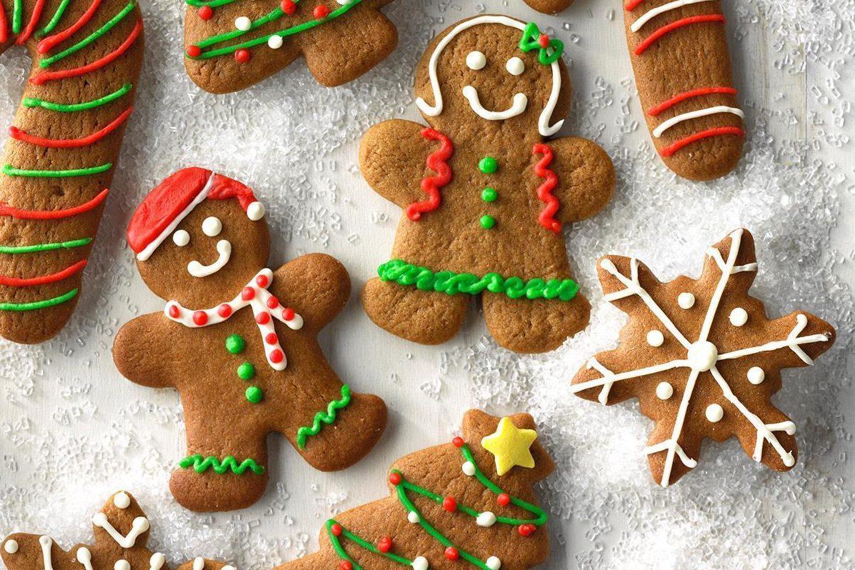 Gingerbread Cutout Cookies