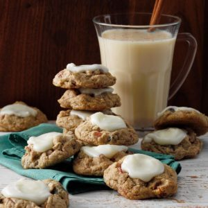 Gingerbread Fruitcake Cookies