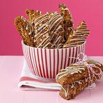 Gingerbread Hazelnut Biscotti