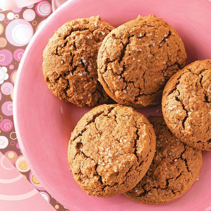 Gingerbread Muffin Top Cookies