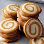 Gingerbread Peppermint Pinwheels