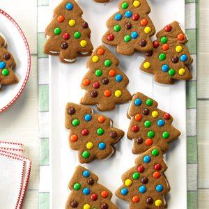 Gingerbread Sandwich Trees