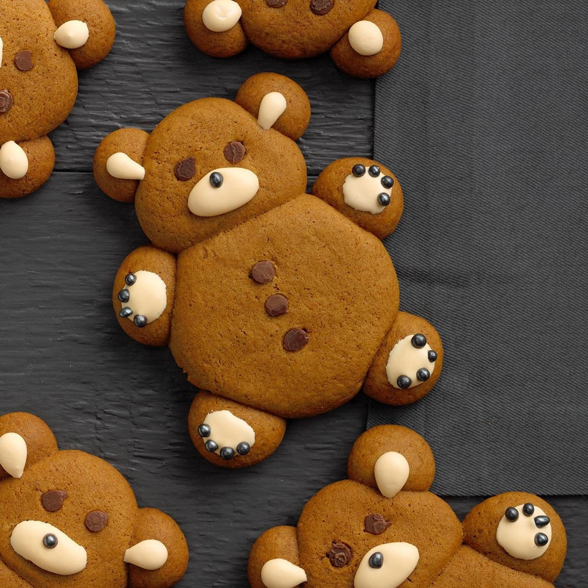 Gingerbread Teddy Bears
