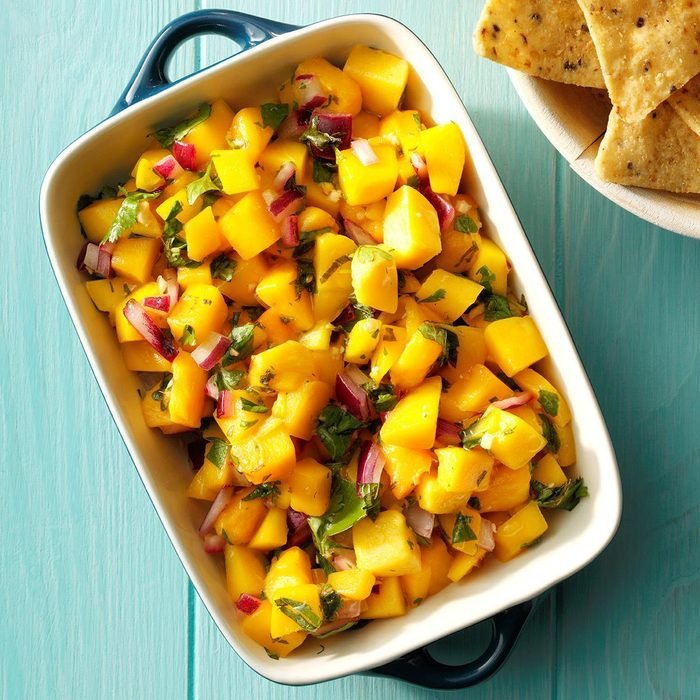 Gingered Mango Salsa
