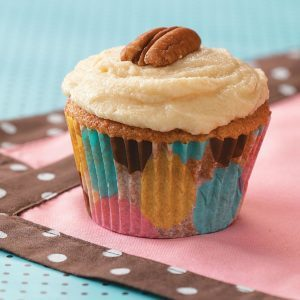 Gingered Maple Cupcakes
