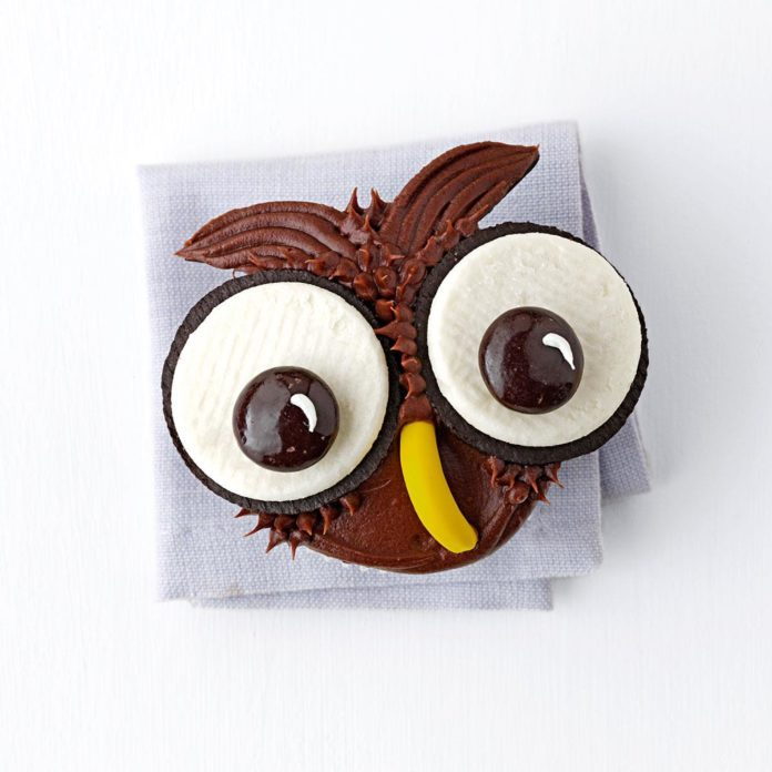 Give a Hoot Cupcakes