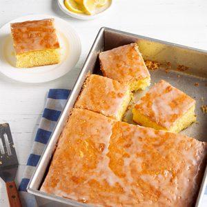 Glazed Lemon Cake