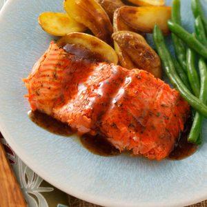 Glazed Salmon Fillet