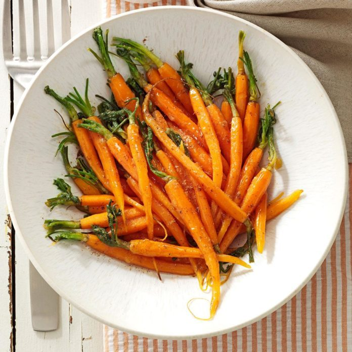 Glazed Spiced Carrots