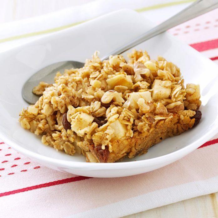 Gluten-Free Baked Oatmeal