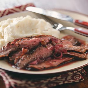 Gluten-Free Grilled Flank Steak