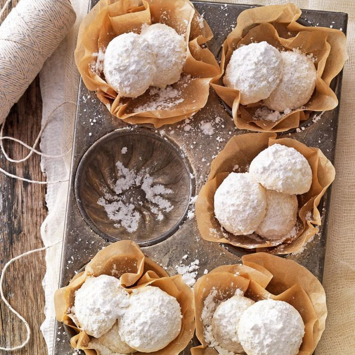 Gluten Free: Snowballs