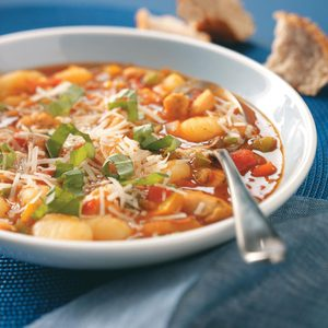 Gnocchi Chicken Minestrone