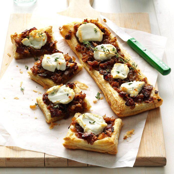 Goat Cheese Onion Pastries Exps Thca17 48736 B05 17 2b 2