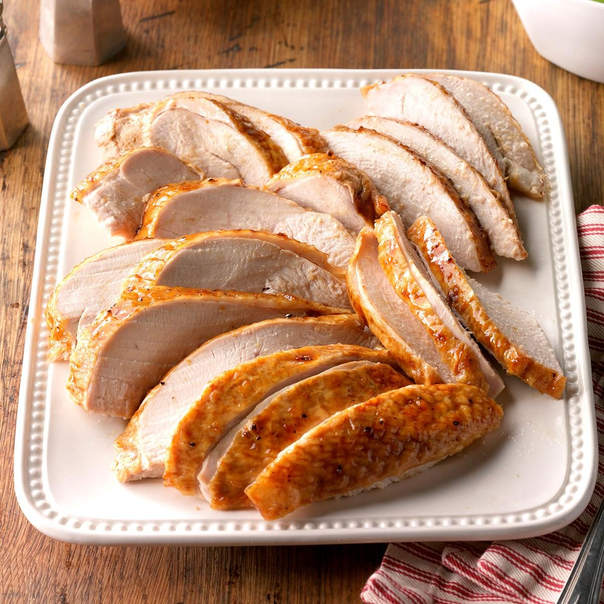Golden Apricot-Glazed Turkey Breast