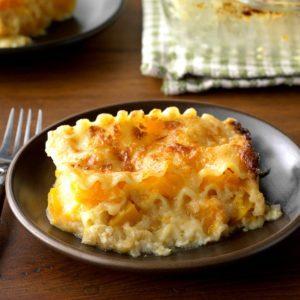 Golden Butternut Squash Lasagna