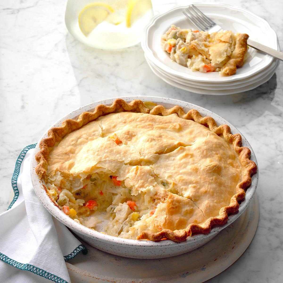 Golden Chicken Potpie