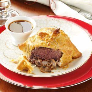 Gorgonzola Beef Wellingtons