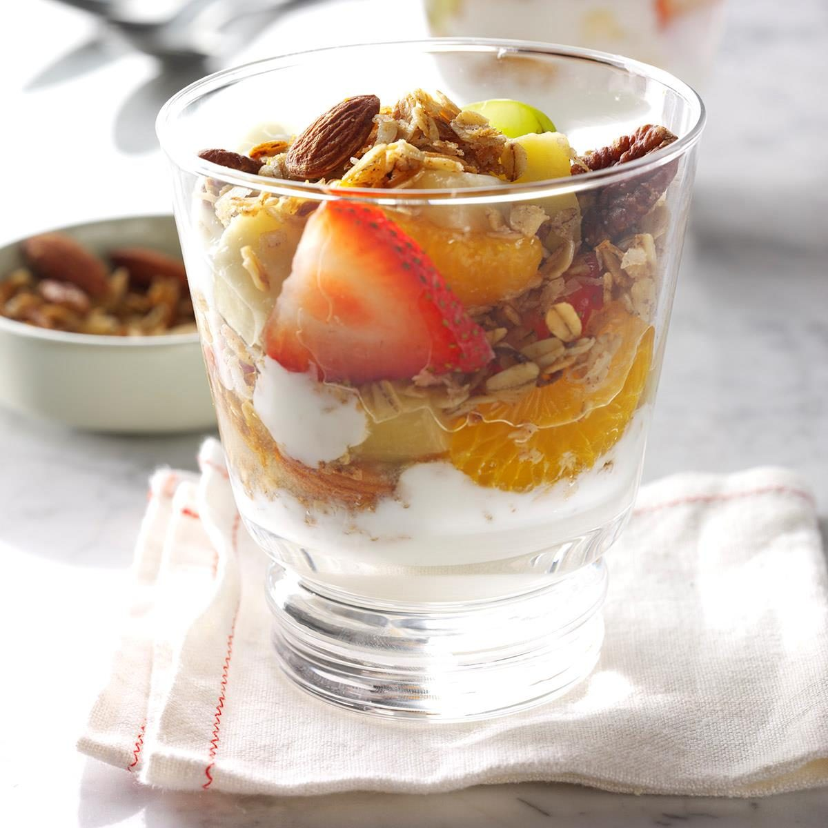 Easy School Lunch Ideas-Fruit Parfait