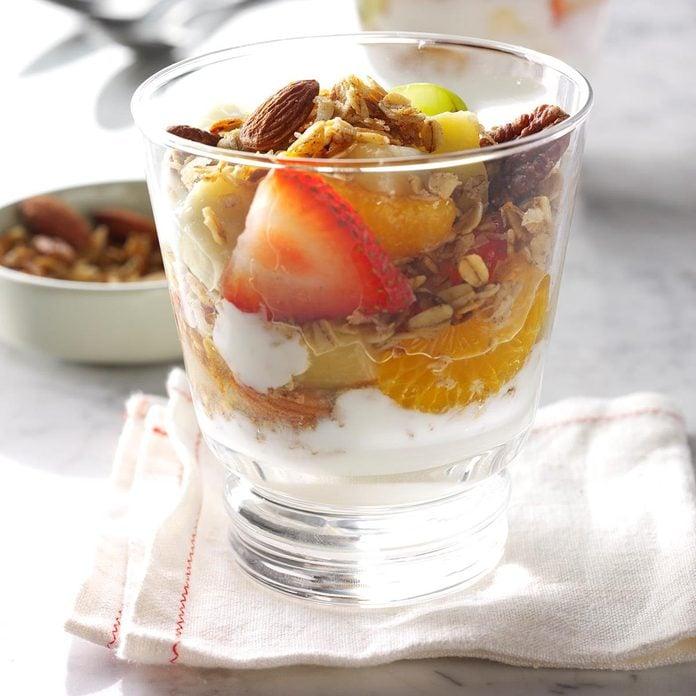 Easy School Lunch Ideas-Fruit Parfait