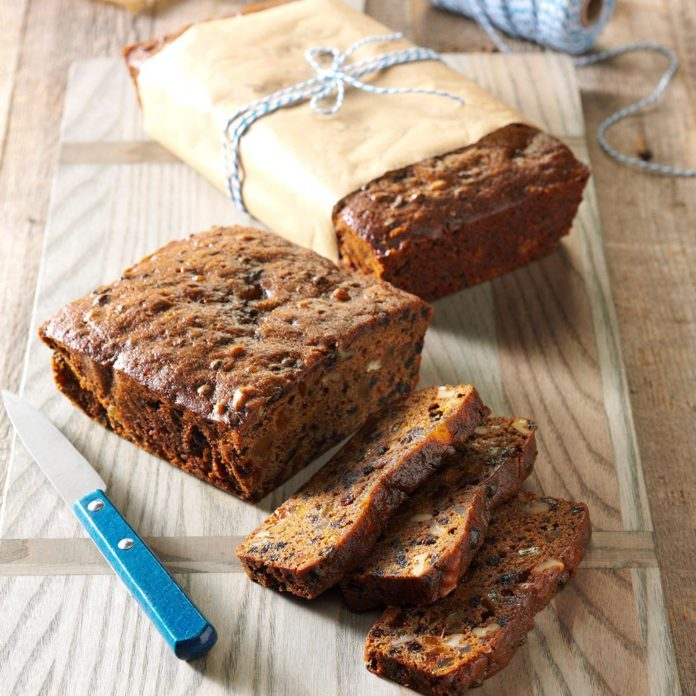 Grandma's Molasses Fruitcake