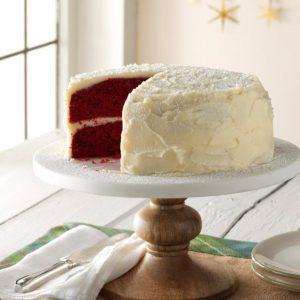 Grandma's Red Velvet Cake