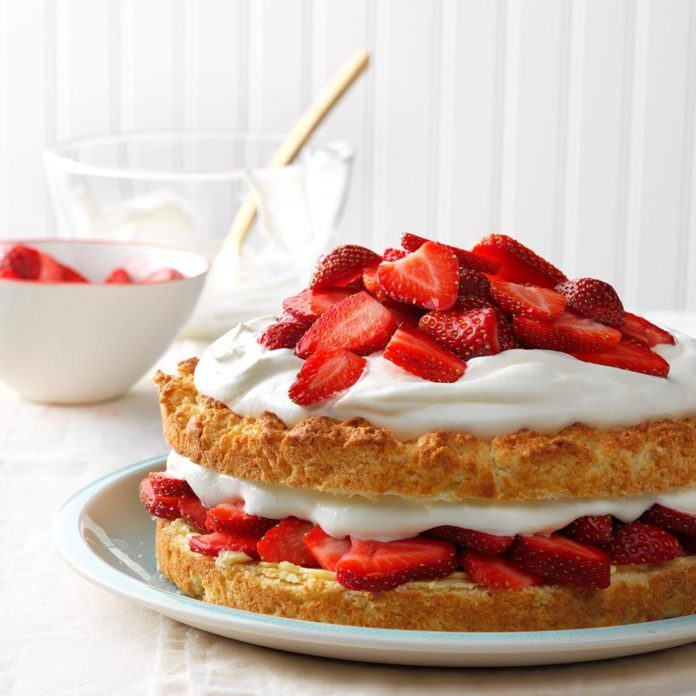 Grandma's Strawberry Shortcake