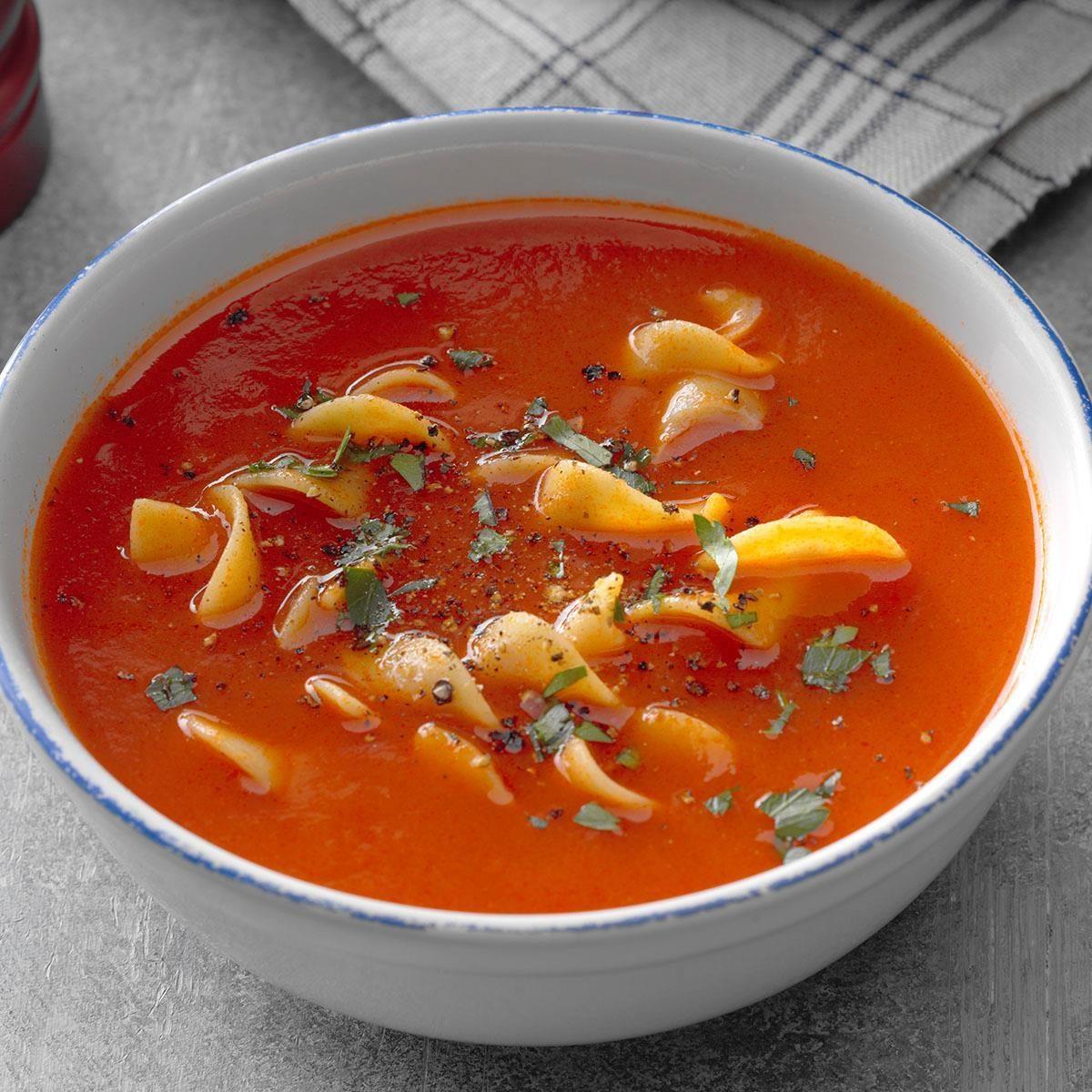 Rhode Island: Grandma's Tomato Soup
