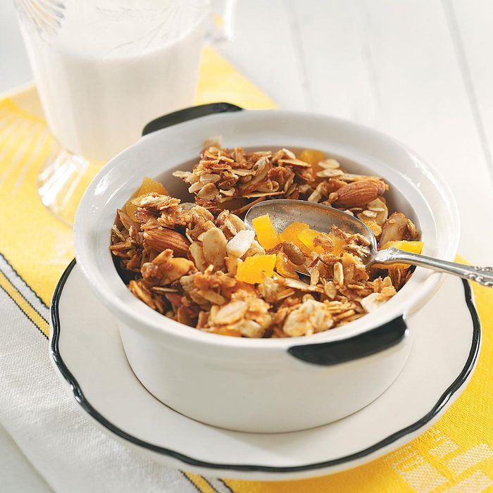 Granola with Apricots and Ginger