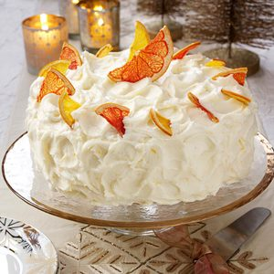 Grapefruit Layer Cake