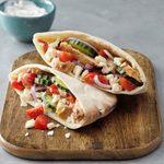 Greek Grilled Chicken Pitas