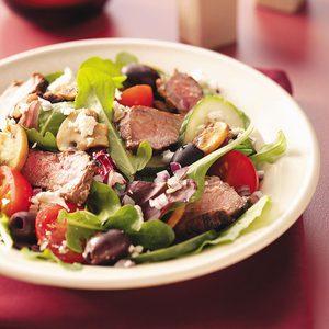 Greek Islands Steak Salad